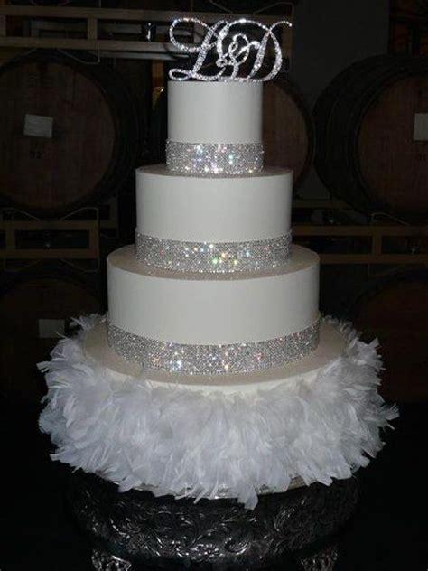 wedding cake  bling jens cakes san francisco