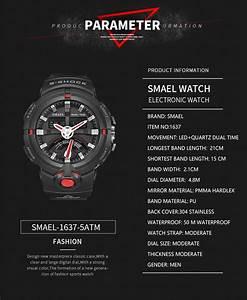 Top Popular Men Waterproof Quartz Digital Sport Watch Dual