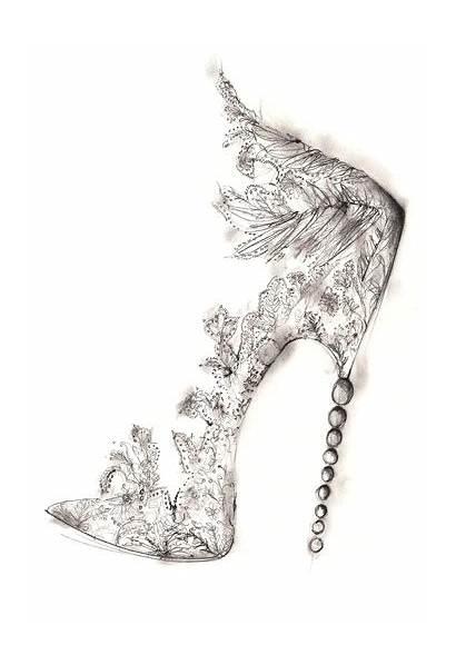 Sketches Shoes Shoe Heels Goodman Georgina Sketch