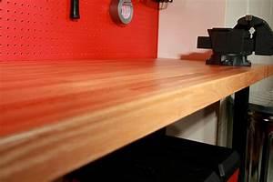 Wood Garage Workbench - The 2 Car Garage Shop Inviting