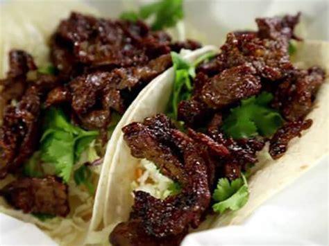 tacos de churrasco coreano bulgogi food network