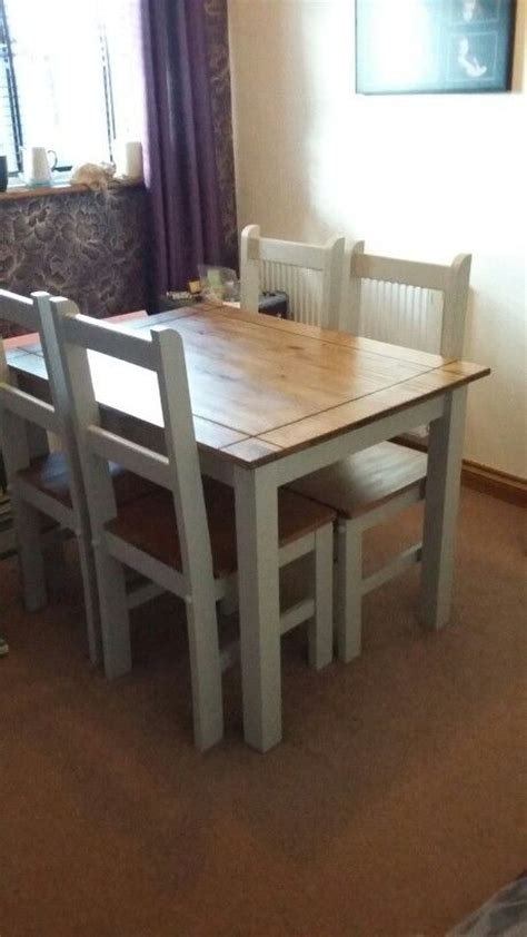 corona mexican pine upcycled table  chairs authentico