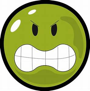 Angry Face Smiley Clipart - ClipartlyClipartly