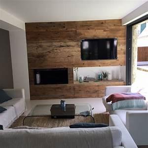 habillage bois interieur maison elegant interieur maison With habillage mur interieur en bois