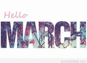 Tumblr photo Hello March inspiring saying