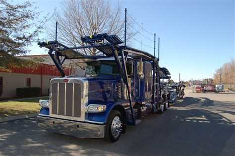 Peterbilt/cottrell Combination Stinger Type #carhauler