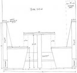 Table Banquette Size by Much Space Between Seat And Table This Could Be Helpful In