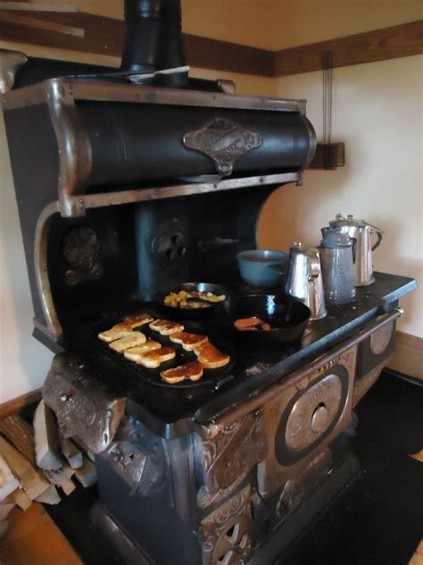 wood cook stove green acresis  place