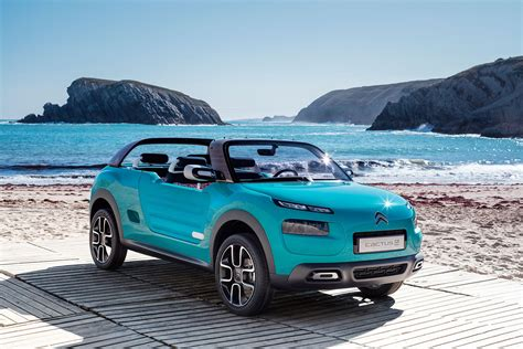 Citroen Car : Citroen Cactus M Concept Car Channels The Méhari Buggy