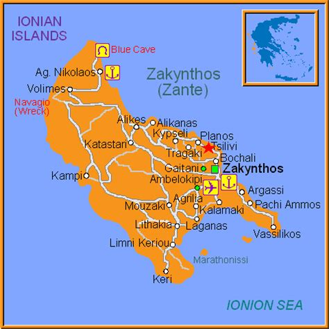 tsilivi zakynthos ionian islands greece travel