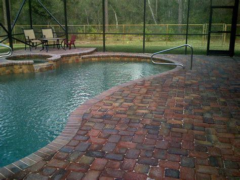 pool pictures with pavers pool patio pavers orlando pool pavers at paverweb com