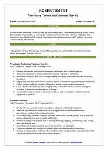 Accounts Payable Resume Veterinary Technician Resume Samples Qwikresume