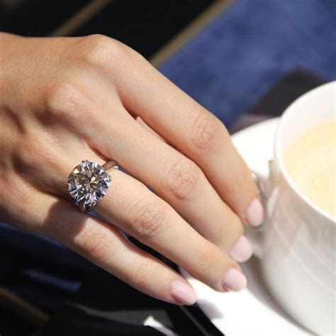 the biggest diamond engagement rings on bond street subtense