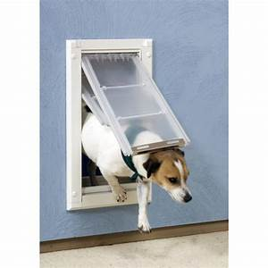 155 best images about dog door ideas for home on pinterest With top paw dog house door