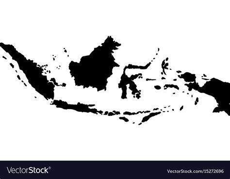 map  indonesia royalty  vector image vectorstock