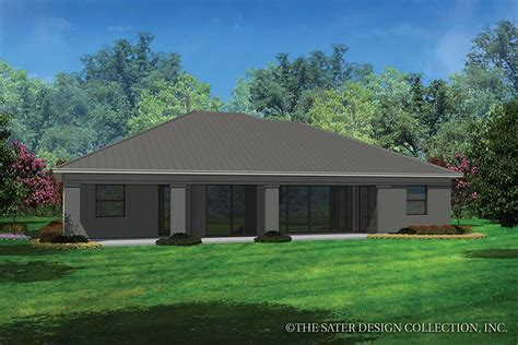 Contemporary Style House Plan 3 Beds 2 Baths 2042 Sq/Ft