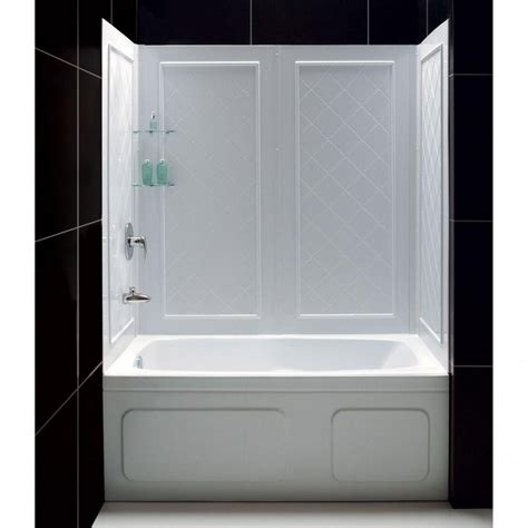 stone shower wall panels kits lowes tub surround solid