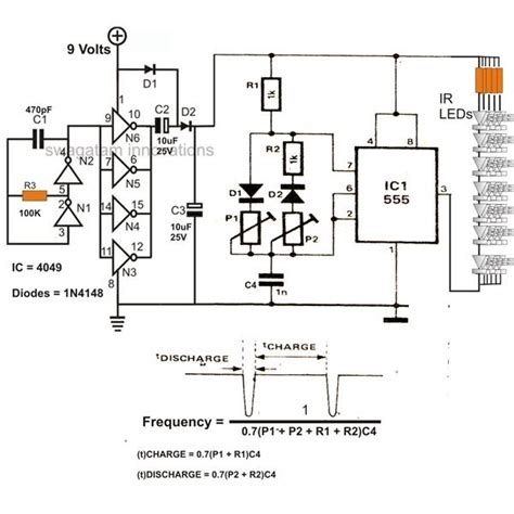 Infrared Led Flood Light Circuit Diagram Electronic