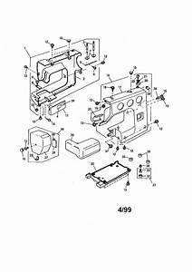 Kenmore 38512102990 Mechanical Sewing Machine Parts