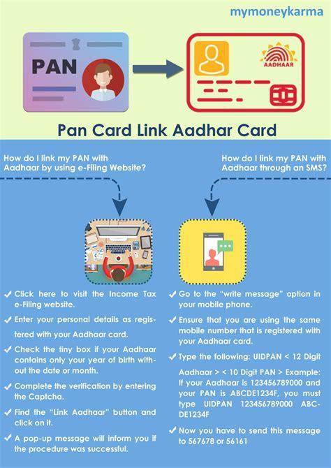 Learn how to apply for a new pan card Pan Card Link Aadhaar Card   mymoneykarma