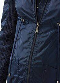 Hooded Maternity Parka In Night Blue By Esprit
