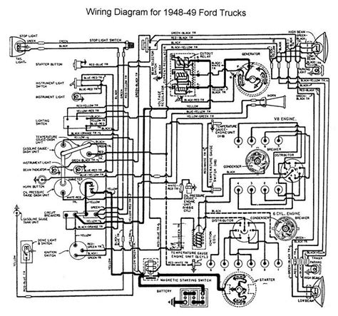 1947 Dodge Wiring Diagram by 1949 Ford F 6 Vin Decoding Page 2 Ford Truck