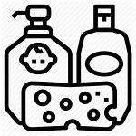 Shampoo Icon Soap Bath Sets Editor Open