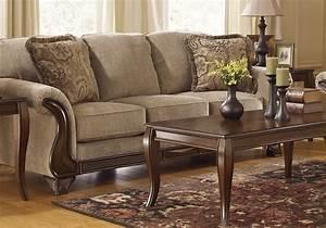 Lanett barley queen sleeper sofa lexington overstock for Sectional sleeper sofa overstock