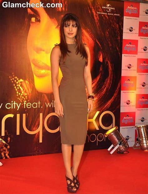 celebrity style staple priyanka chopra  sheath dresses