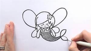 Simple Mermaid Drawings For Kids   www.pixshark.com ...