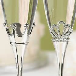 quinceanera cake toppers king and toasting flutes fairytale wedding favors