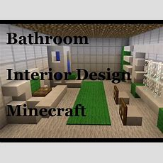 Minecraft Bathroom Design (minecraft Interior Inspiration