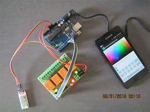 Bluetooth Controlled Electrical Appliances