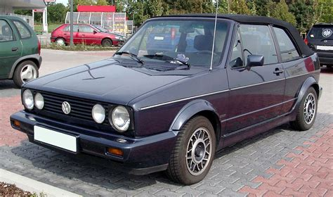 vw golf 1 cabrio volkswagen golf cabriolet