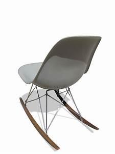 Charles Eames Schaukelstuhl : grauer schaukelstuhl von charles ray eames f r herman ~ Sanjose-hotels-ca.com Haus und Dekorationen