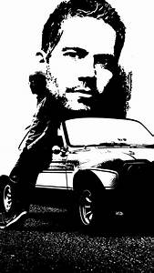 Fast & Furious Paul Walker Wallpaper for iPhone X, 8, 7, 6 ...