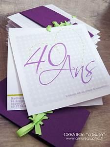 Faire Part Anniversaire 50 Ans : faire part anniversaire de mariage sa pochette lac e a ~ Edinachiropracticcenter.com Idées de Décoration