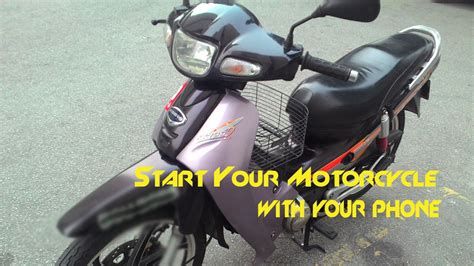 Arduino Bluetooth Motorcycle Starter (start Motorcycle