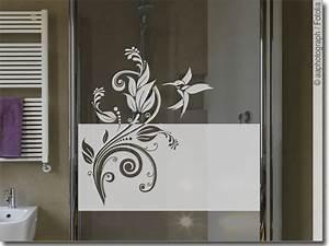 Dusche Folie Glas : sichtschutz ornament kolibri fensteraufkleber ~ Frokenaadalensverden.com Haus und Dekorationen
