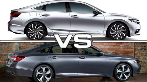 2019 Honda Insight Vs 2018 Honda Accord