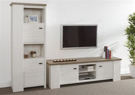 acheter buffet cuisine acheter votre meuble tv grand modele bicolor moderne chez simeuble