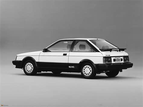 Nissan Pulsar Milano X1 (N12) 1984–86 wallpapers (2048x1536)