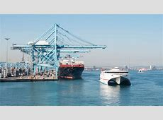 El puerto de Algeciras y su conexión con Marruecos