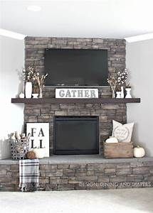 15, Fall, Decor, Ideas, For, Your, Fireplace, Mantle