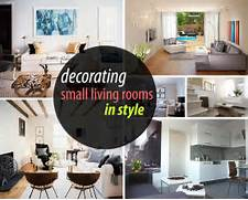 Furnishing A Small Living Room by How To Decorate A Small Living Room