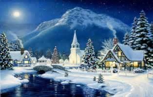 Beautiful Christmas Winter Scenes