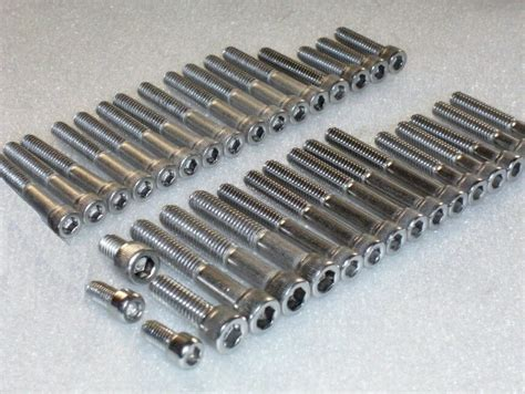 bsa a7 a10 swingarm engine stainless unc bsf socket screws allen bolt kit 34pc ebay