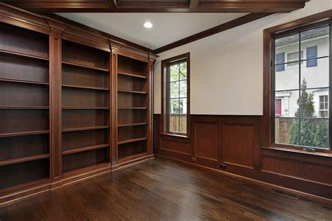 custom cabinets ct library shelves built  closets