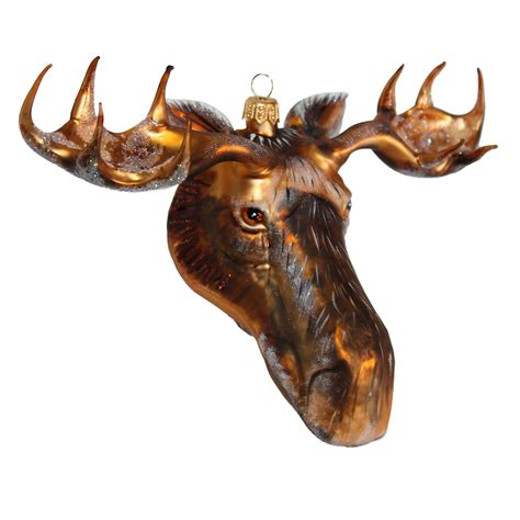 Moose Head Christmas Ornament Gump's