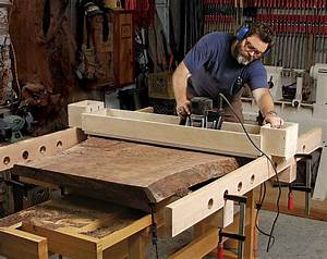 Level Big Slabs in No Time Flat - FineWoodworking